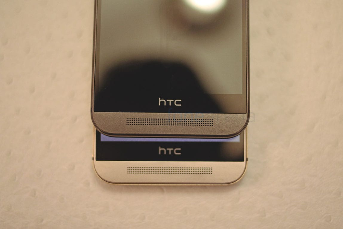 HTC One M9 - barra nera