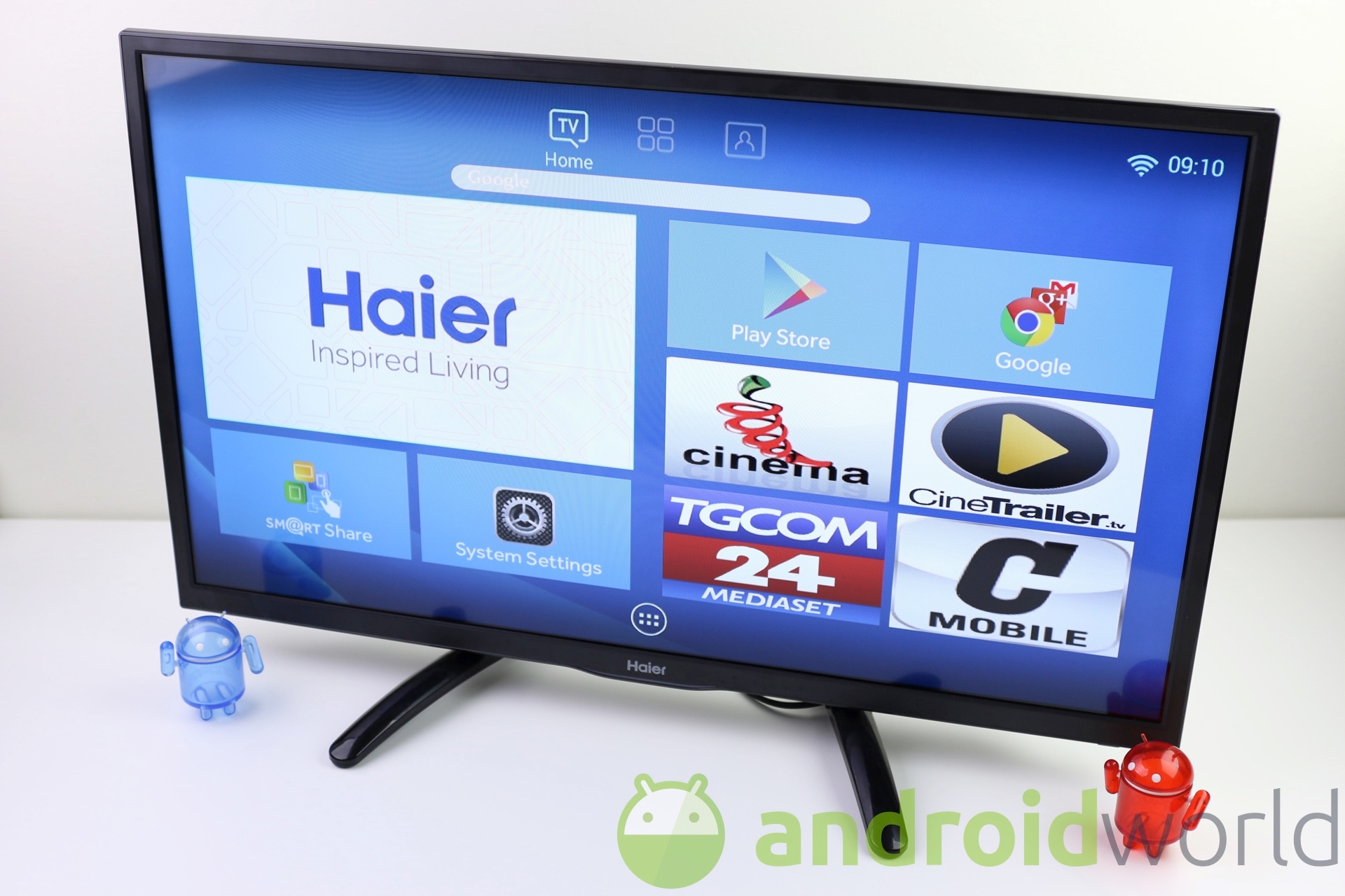 Recensione Haier Android Smart TV LE32U5000A | AndroidWorld