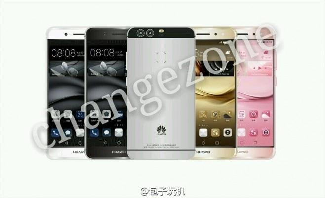 Huawei P9 render leaked - 6