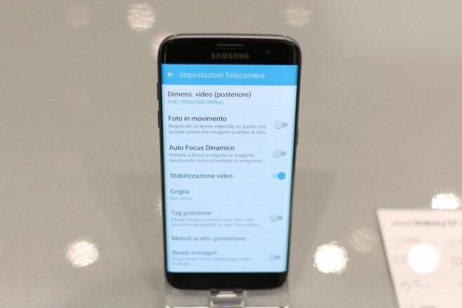 Impostazioni Fotocamera Galaxy S7 - 1