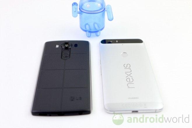 LG V10 - Huawei Nexus 6P - 7
