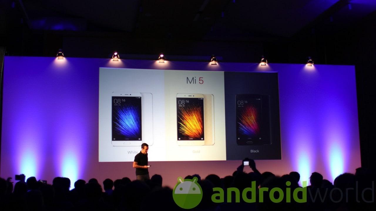 Tutte (o quasi) le slide della presentazione di Xiaomi Mi 5 (foto)