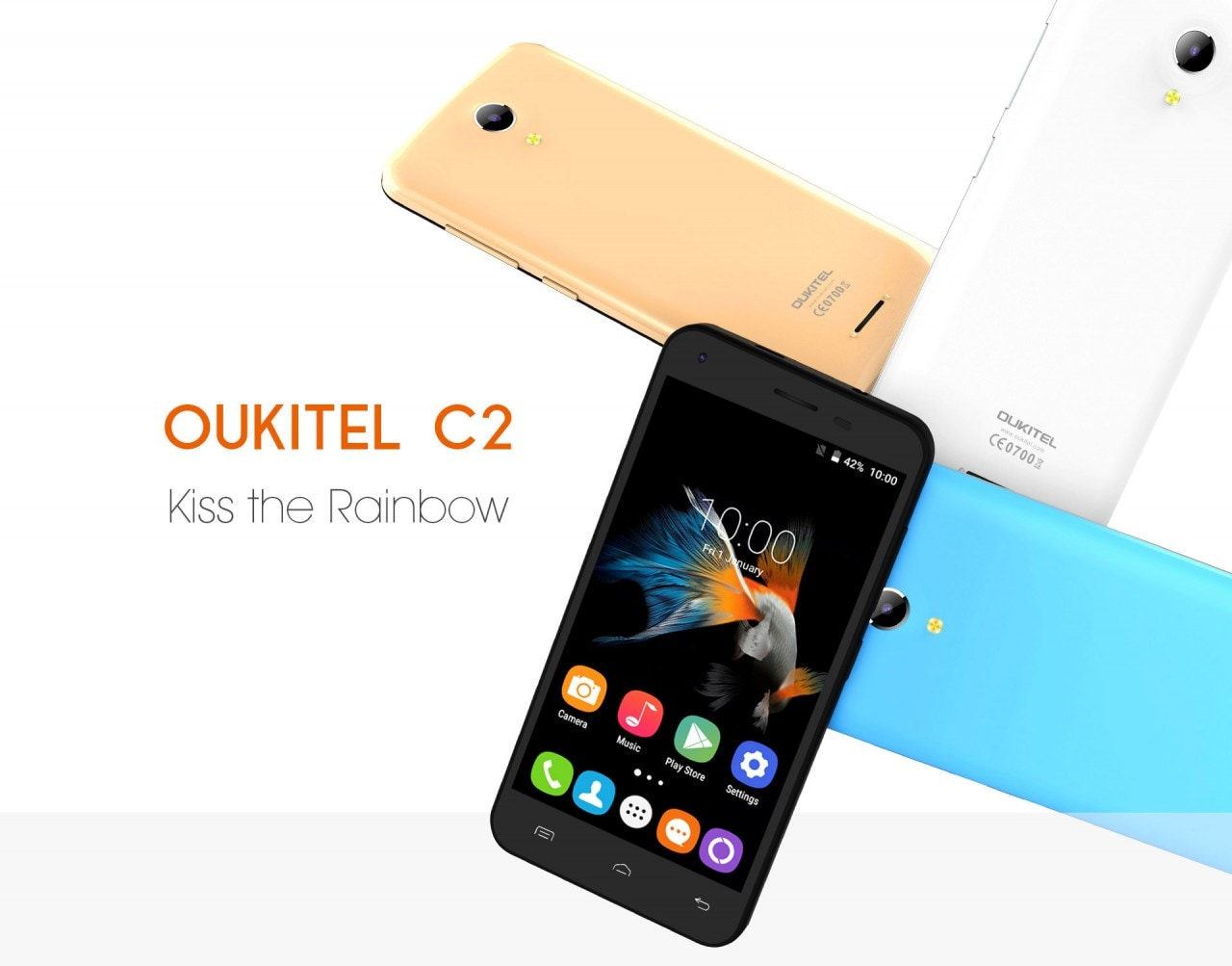 Oukitel C2 - 1