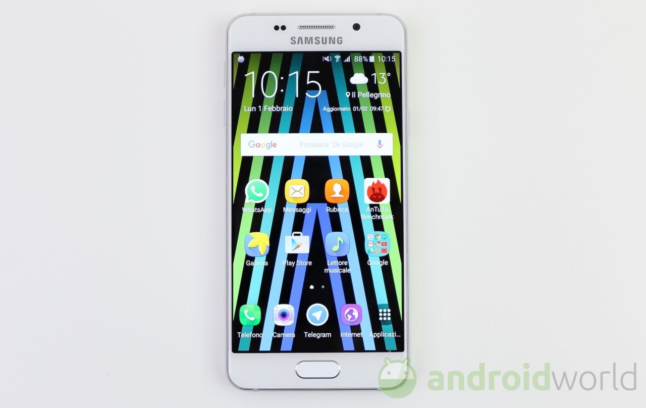 Samsung Galaxy A3 2016 Inizia A Ricevere Laggiornamento