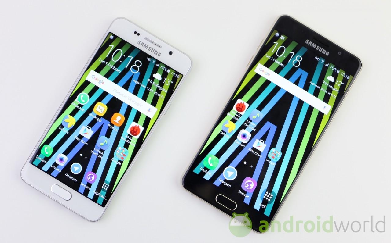 Android 7.0 Nougat arriverà sui Galaxy A (2016)