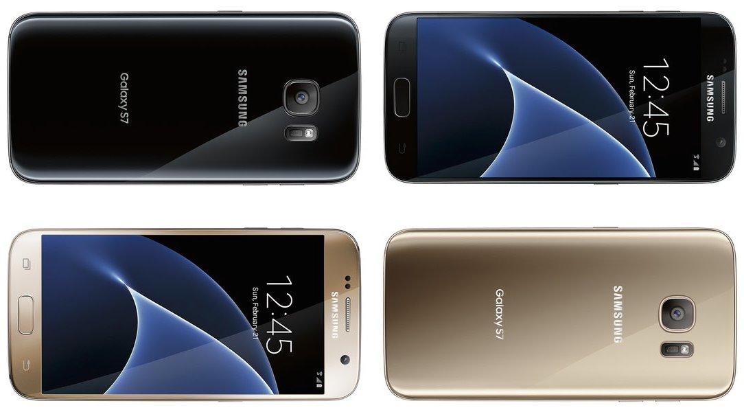 Samsung Galaxy S7 - fronte retro - 2