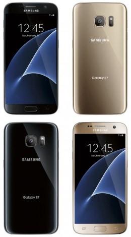 Samsung Galaxy S7 - fronte retro
