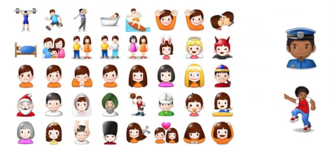 Samsung - emoji - no tonalità della pelle