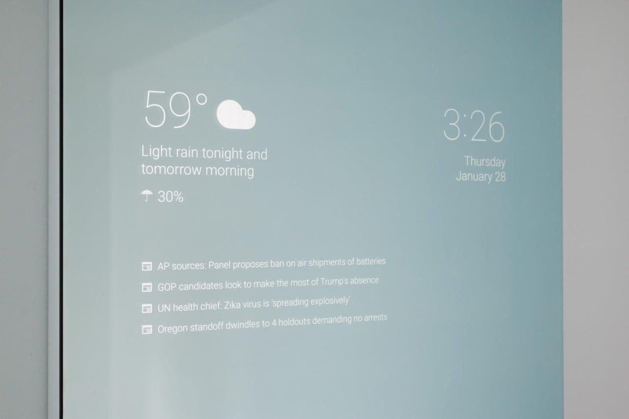 Smart Mirror Google - 2