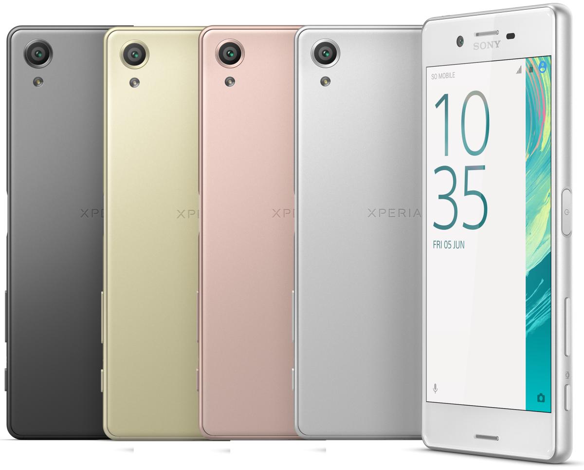 Sony Xperia X Render