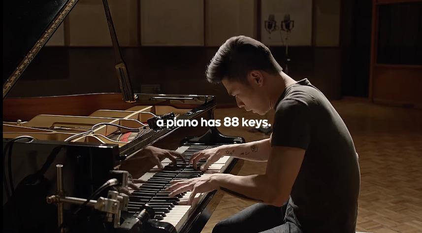 Un pianoforte mono-tono è la migliore metafora della diversità di Android (video)
