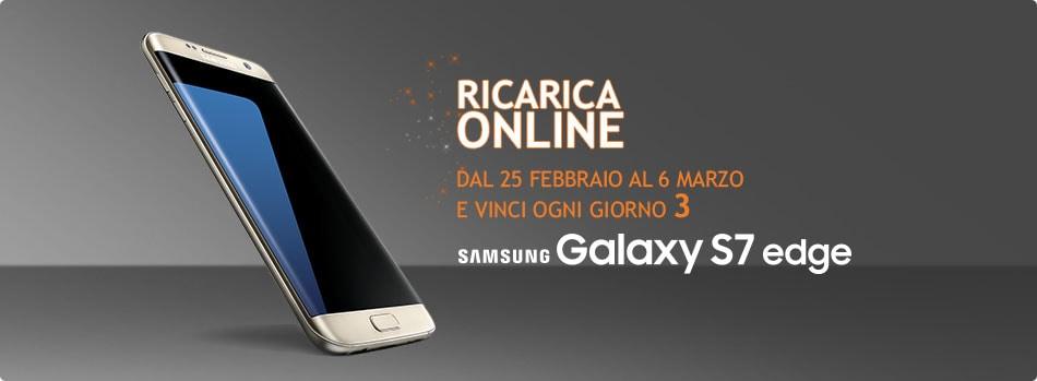 Wind ricarica online Galaxy S7 edge