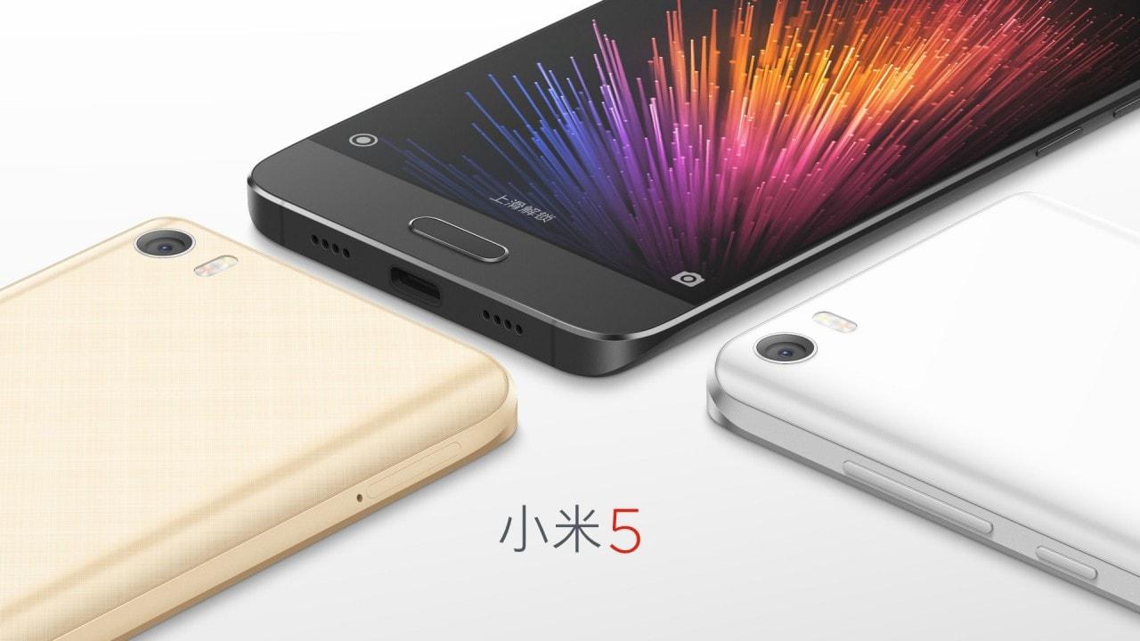 Xiaomi Mi 5 Render - 2