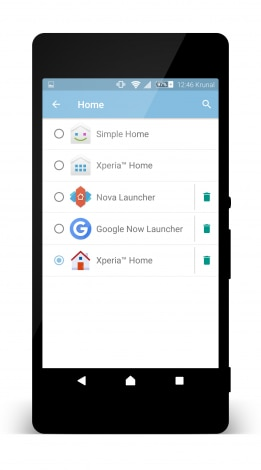 Xperia Home Launcher Marshmallow 1
