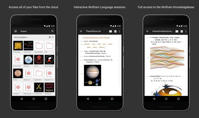 Tutta la potenza dei server Wolfram a portata di smartphone: arriva Wolfram Cloud