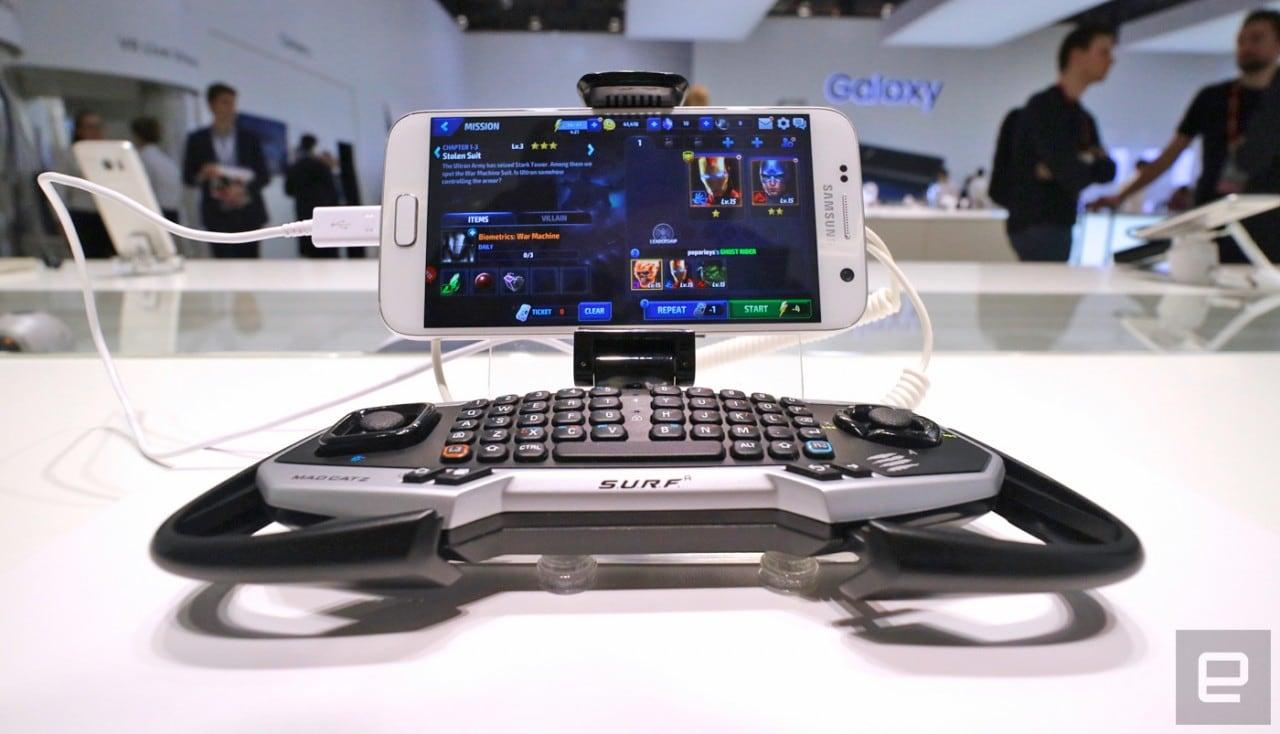 Ammirate il controller Mad Catz per Samsung Galaxy S7 / S7 edge (foto)