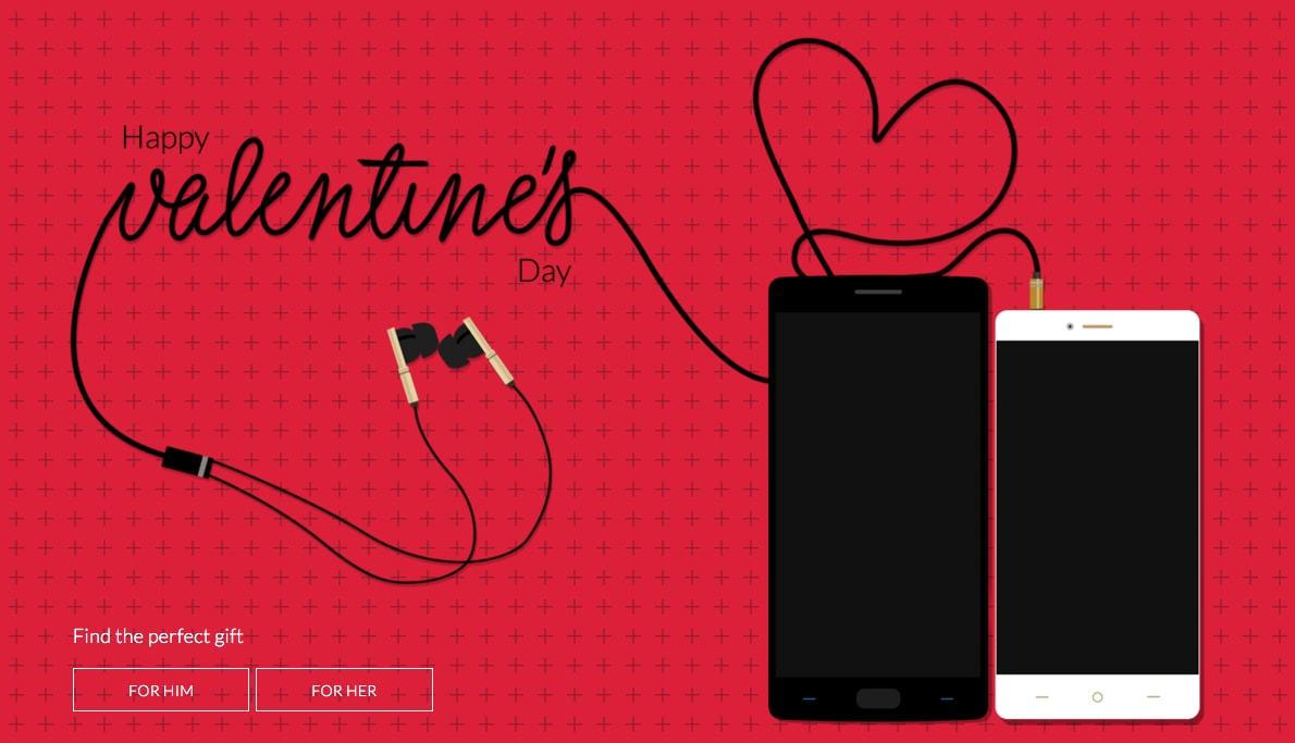 OnePlus regala una cover per S. Valentino, e forse anche altro