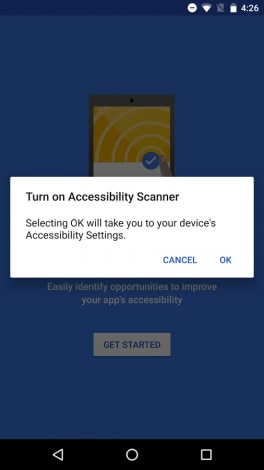 Accessibility Scanner - 1