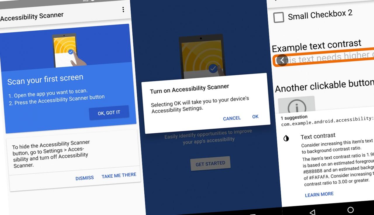 """Accessibility Scanner è l'app di Google che renderà più """"accessibili"""" le altre app (foto)"""