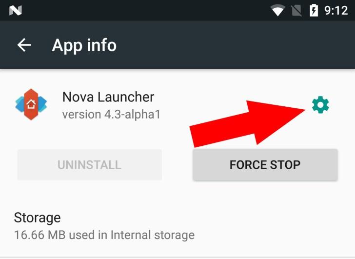 Android N - Impostazioni app