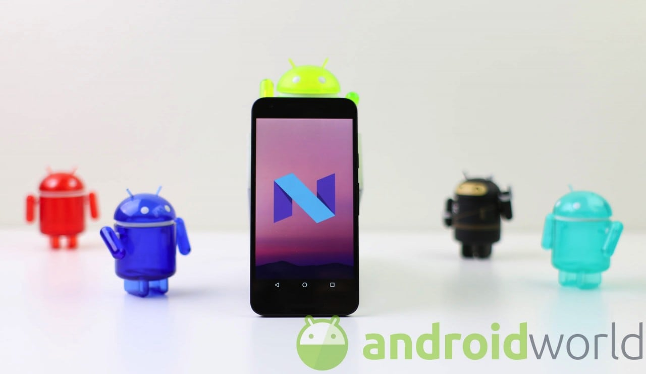 Android N final - 3