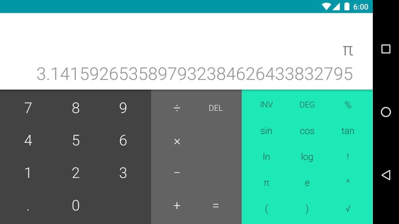 Calcolatrice Google - 2