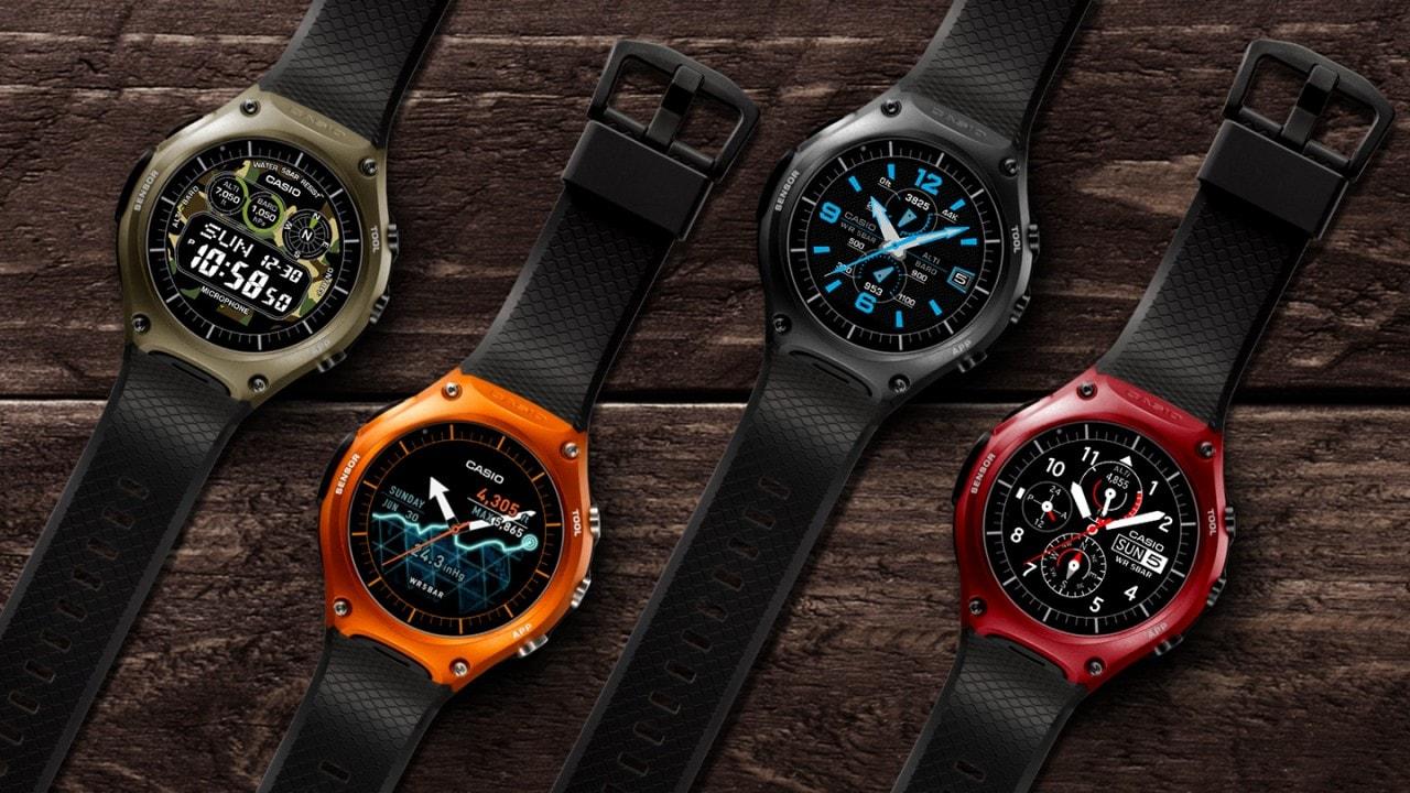 Casio smartwatch android wear