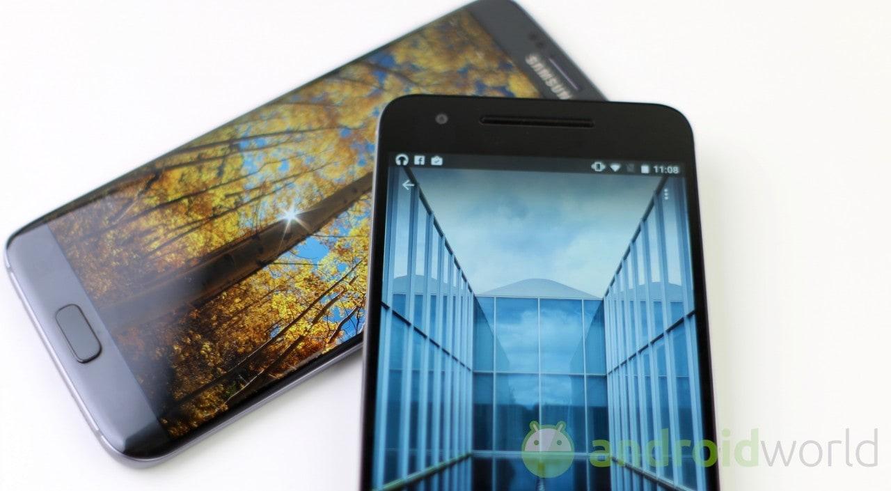 Confronto S7 edge - Huawei Nexus 6P - 4