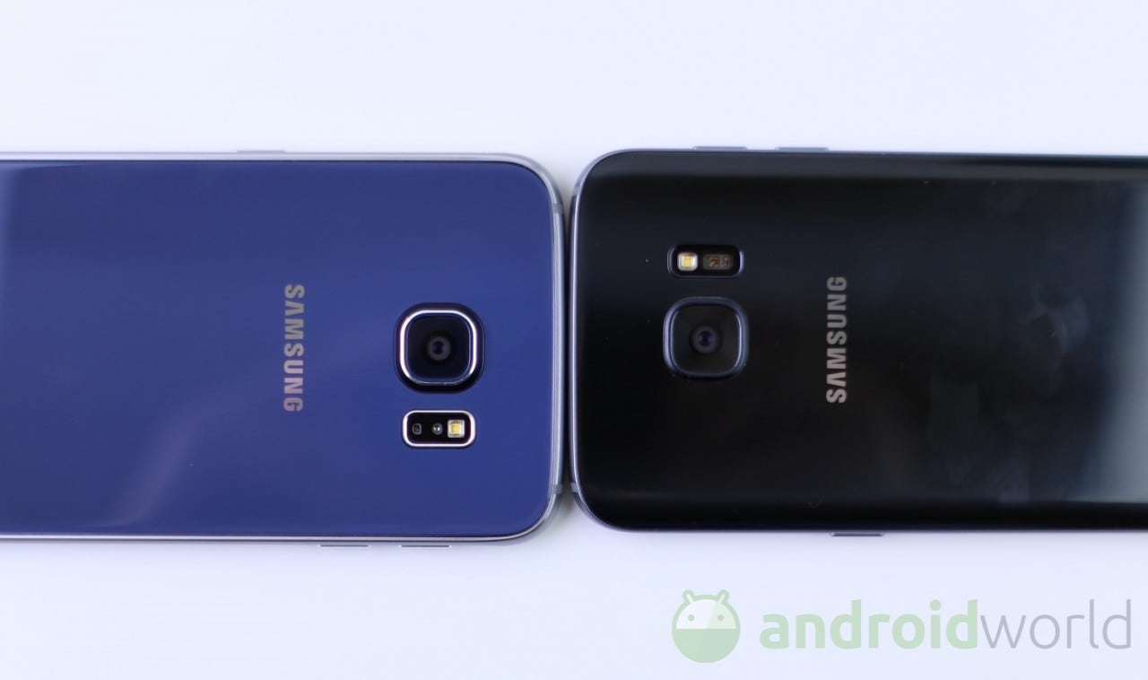 Confronto Samsung Galaxy S6 - S7 - 9