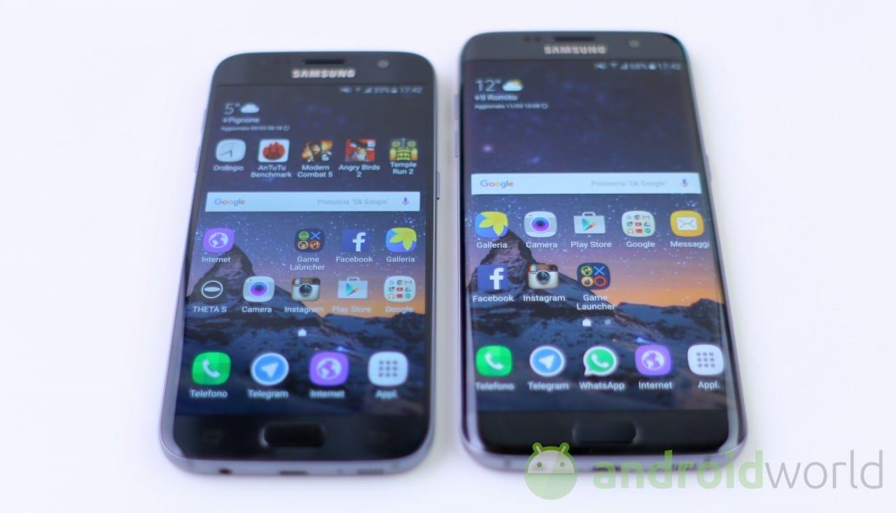Confronto Samsung Galaxy S7 - S7 edge - 2