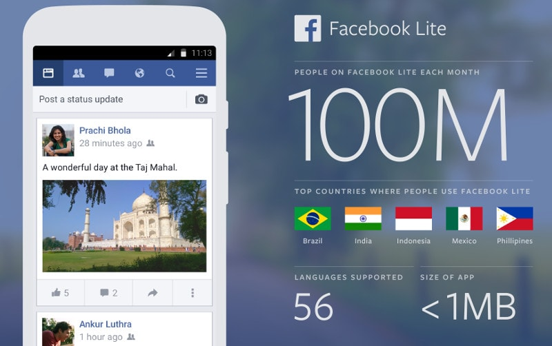 Facebook-Lite-India-100-million