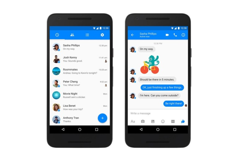 Facebook Messenger - Material Design