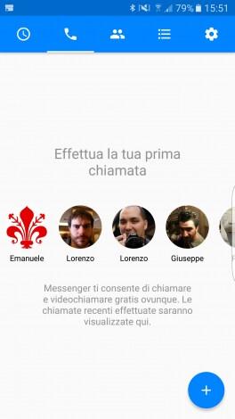 Facebook Messenger chiamate - 1