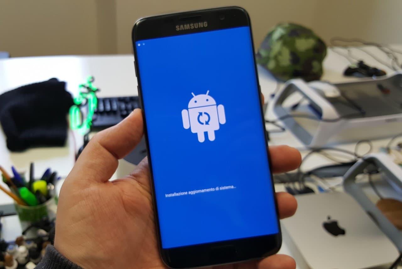 Galaxy S7 edge aggiornamento