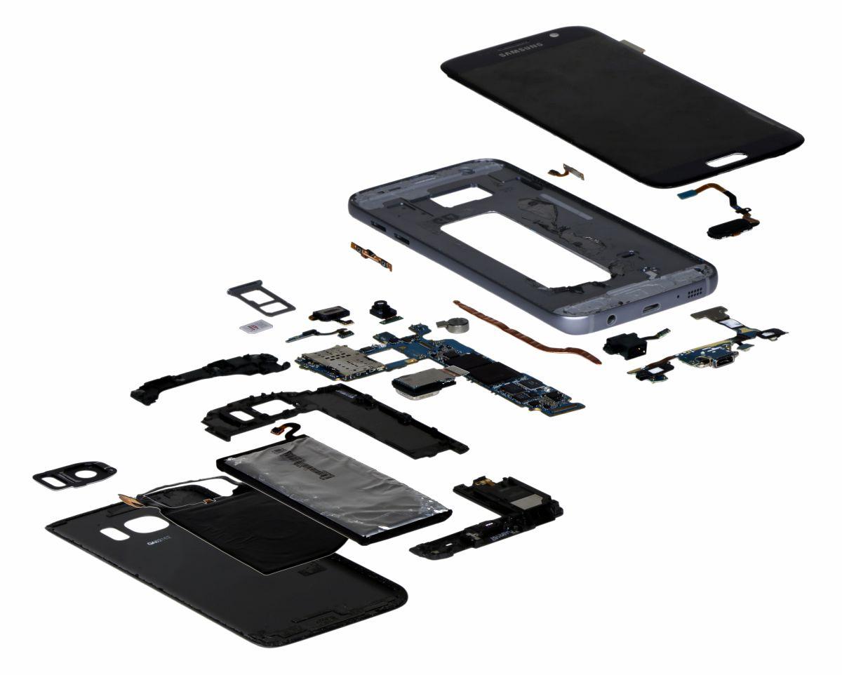 Galaxy S7 esploso