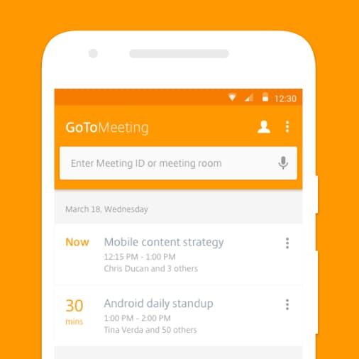 L'app per le conferenze GoToMeeting si aggiorna con un'aspetto tutto nuovo (foto)