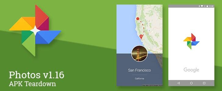 Google Foto 1.16 rivela tante possibili funzioni future