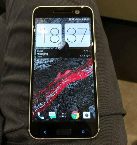 HTC 10 front