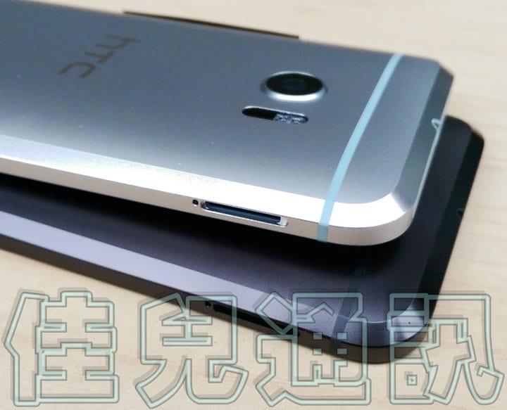 HTC M10 - nero e argento - 7