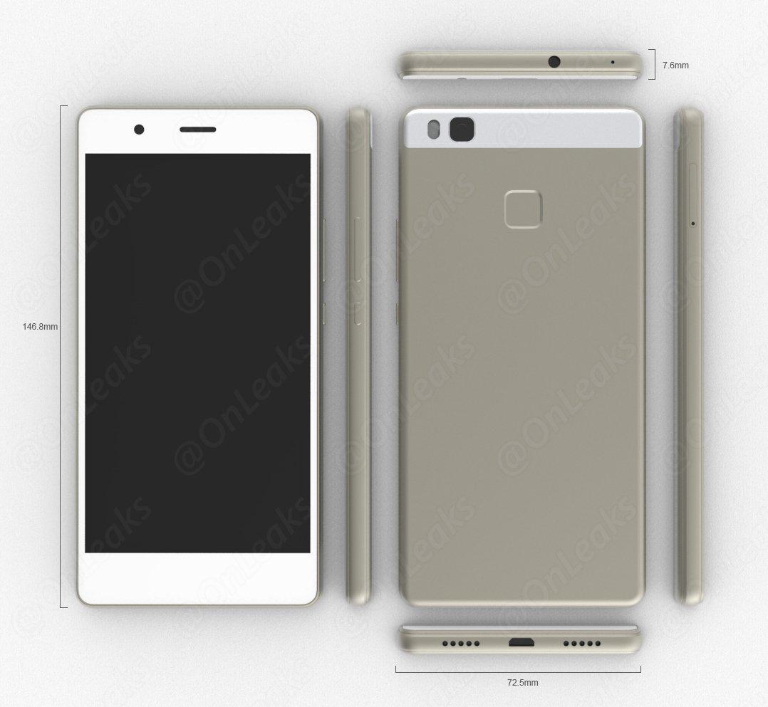 Huawei P9 Lite CAD