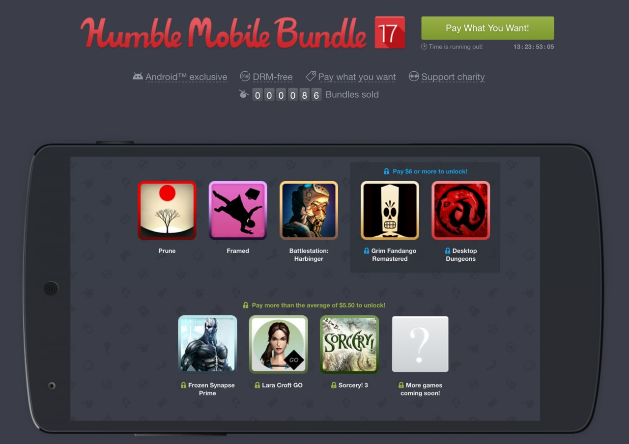 Humble Mobile Bundle 17