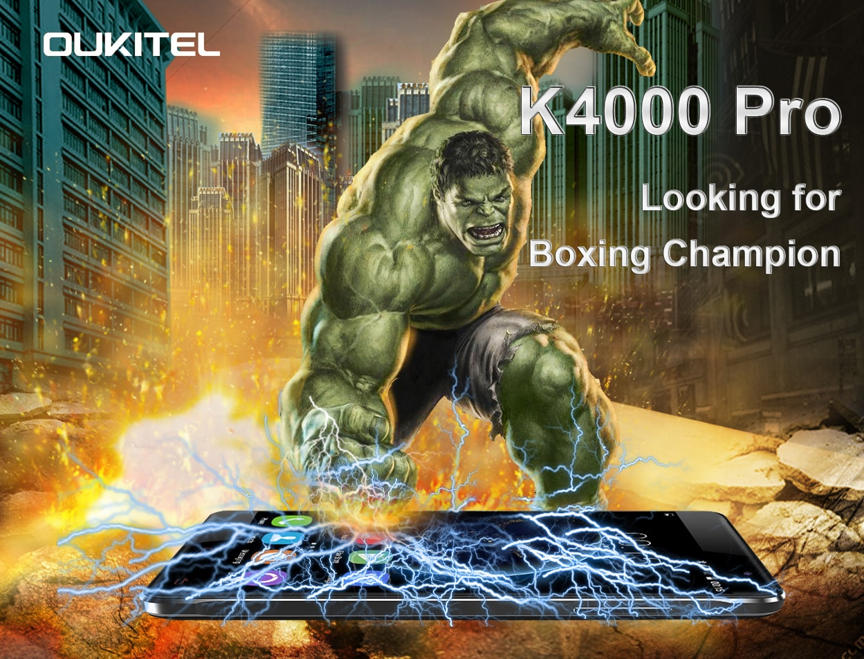 K4000 pro pugni