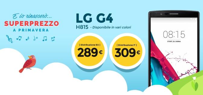 LG G4 stockisti