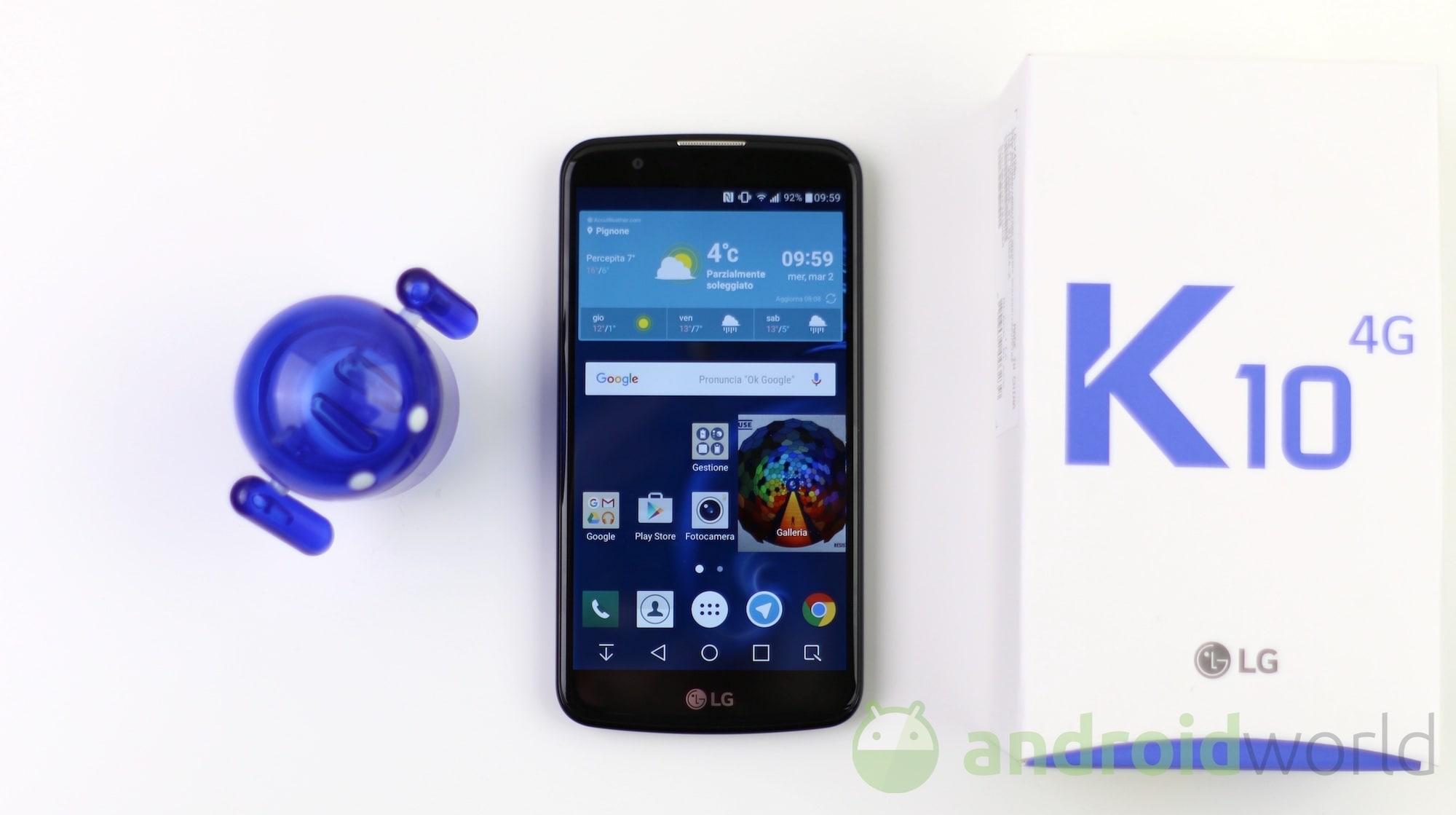 LG K10 4G – 3