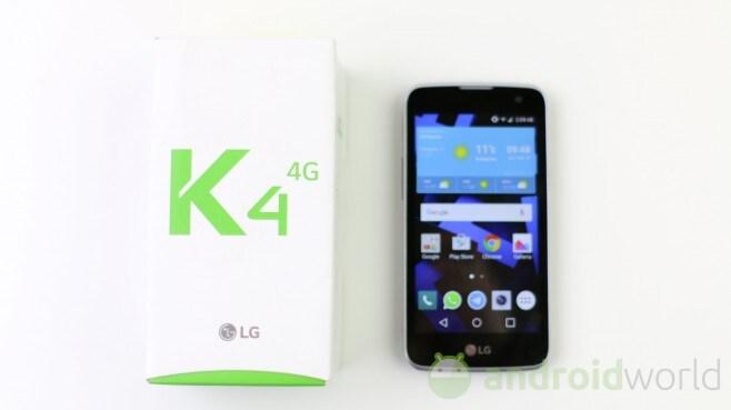 LG K4 4G - 1