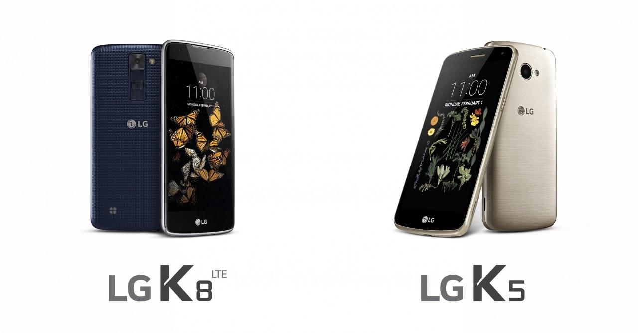 LG si ricorda finalmente di annunciare K5 e K8, ma solo uno dei due dovrebbe arrivare da noi