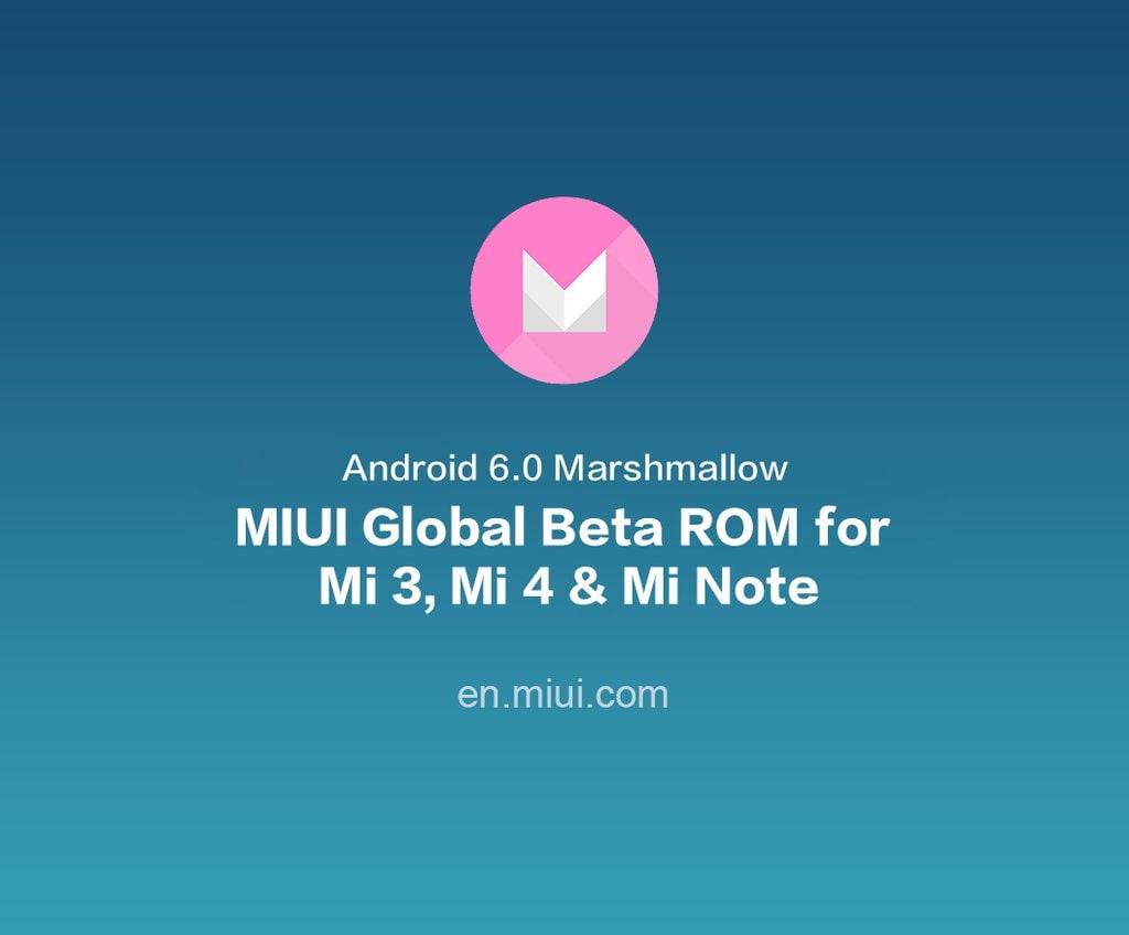 Miui Beta Con Marshmallow Arriva Su Mi3 Mi4 E Mi Note