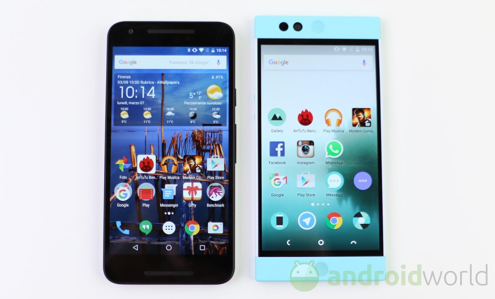 Nexus 5X vs Robin – 1