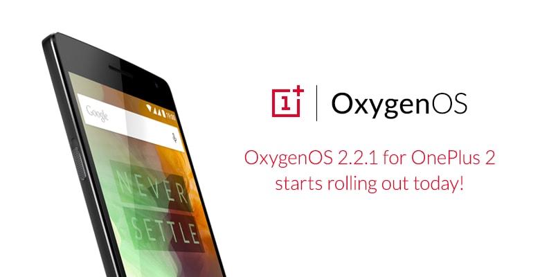 OxygenOS 2.2.1 OnePlus 2