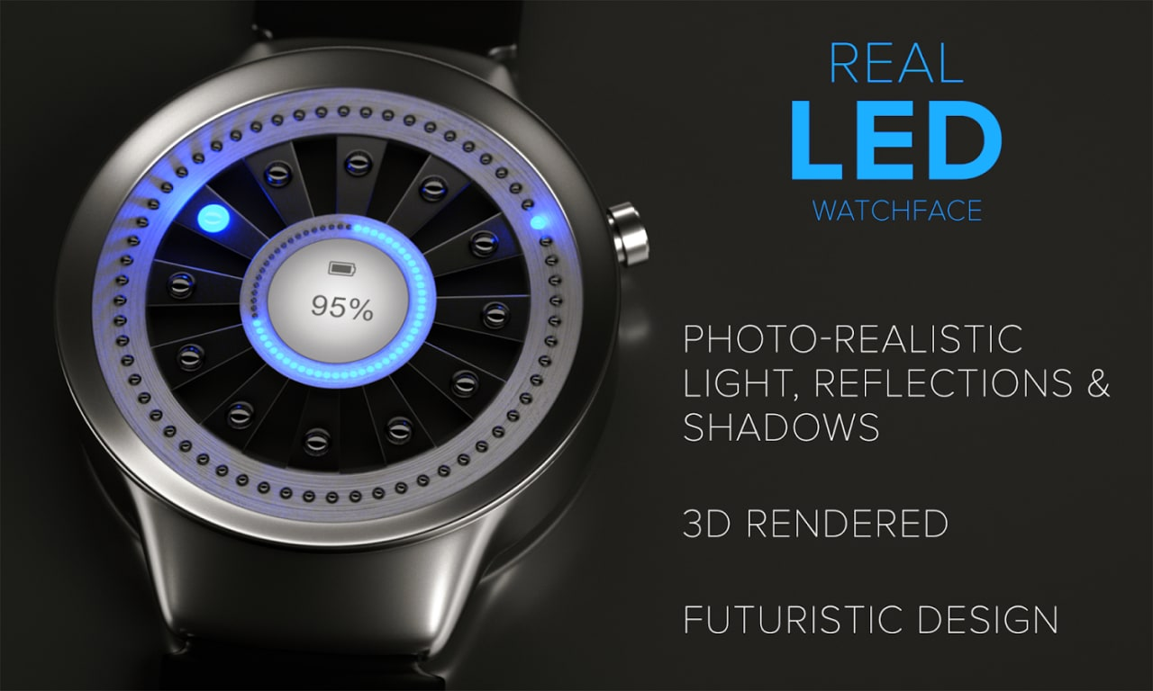 Real LED Watchface (1)